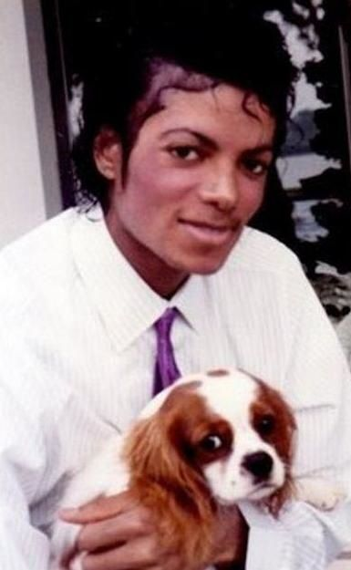 Michael Jackson and his Cavalier