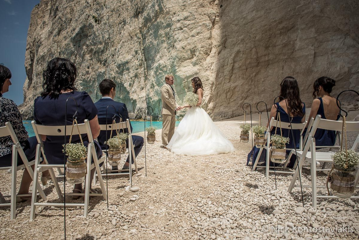 small beach wedding ceremony ideas%0A Do you dream of a unique wedding  something intimate and completely  different to the norm  If yes then a Shipwreck Beach wedding in Zante could  be perfect