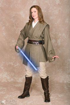 Diy Girls Jedi Costumes Google Search Female Jedi