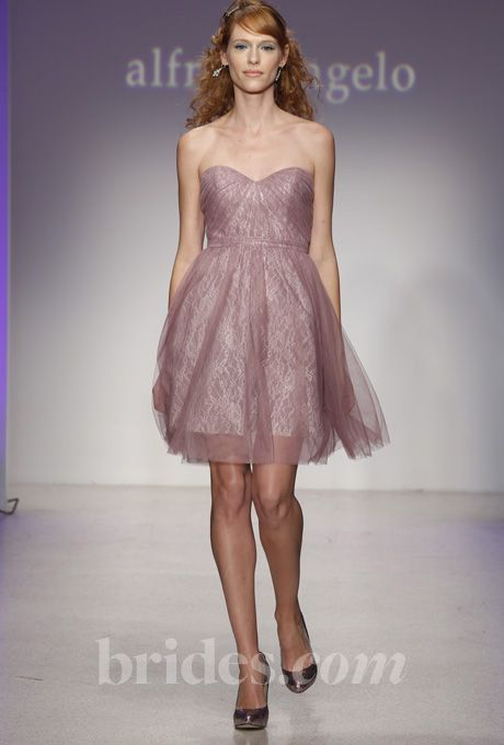 Brides Alfred Angelo Bridesmaid Dresses Fall Winter 2017 Dress By See More In Our Gallery