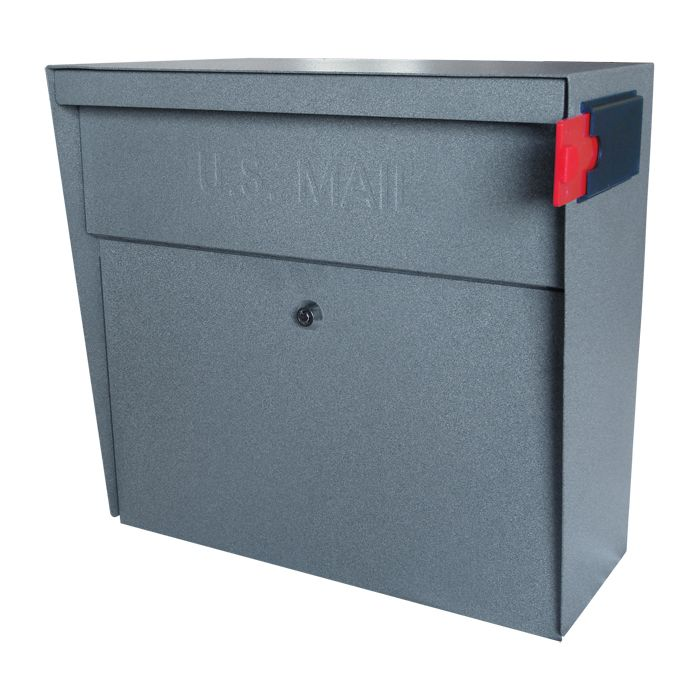 Ultimate High Security Locking Metro Wall Mount Mailbox In Granite Wall Mount Mailbox