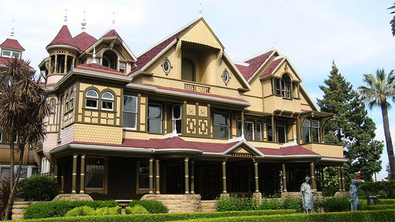 KQED on Winchester house, Scary haunted house