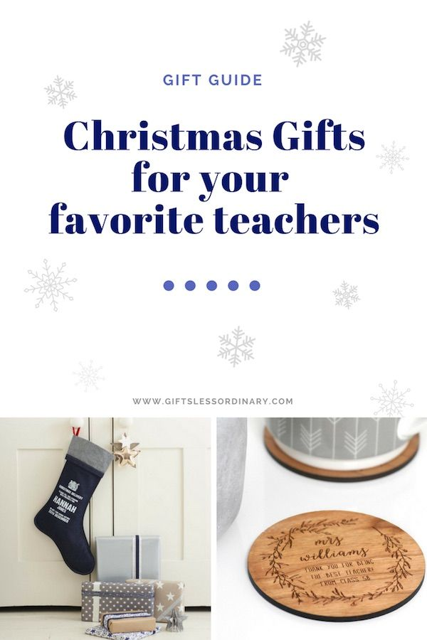 Christmas Gifts For Your Favorite Teachers By Gifts Less Ordinary Personalised Personalised Gifts Online Personalized Christmas Decor Teacher Christmas Gifts