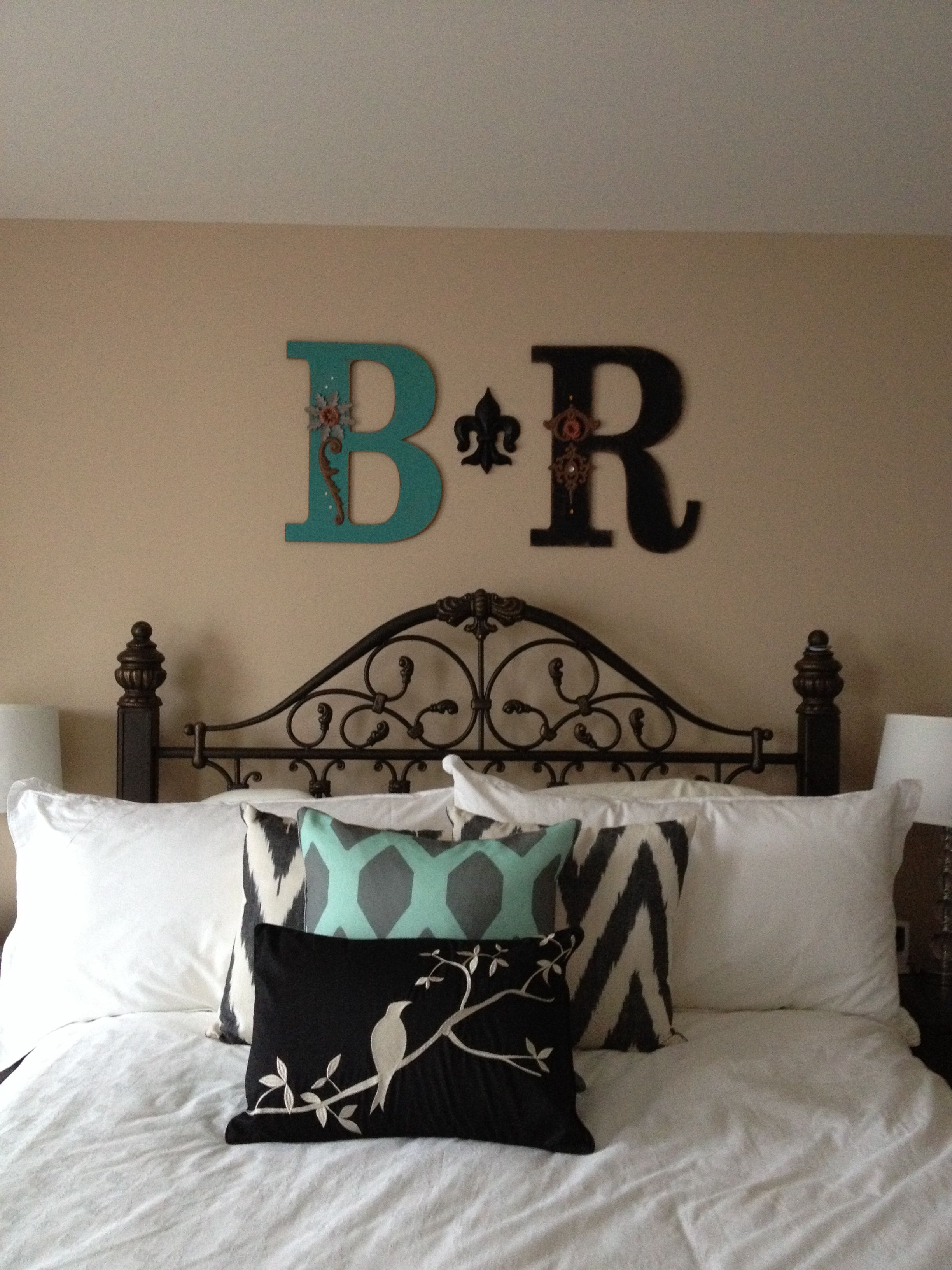 Bedroom Decor Letters From Hobby Lobby Branalyn This