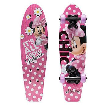 Disney Minnie Mouse 21-in. Wood Cruiser Skateboard - Kids
