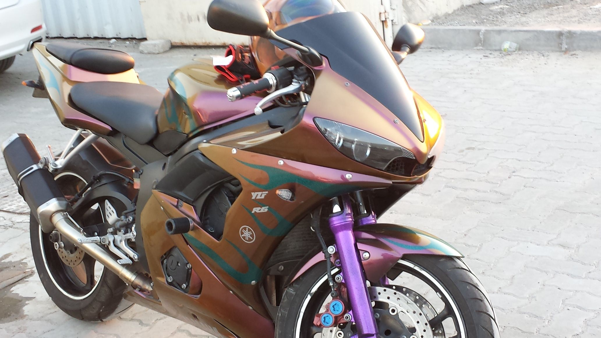 Chameleon Pearls Beautiful Motorcycles Car Painting Super