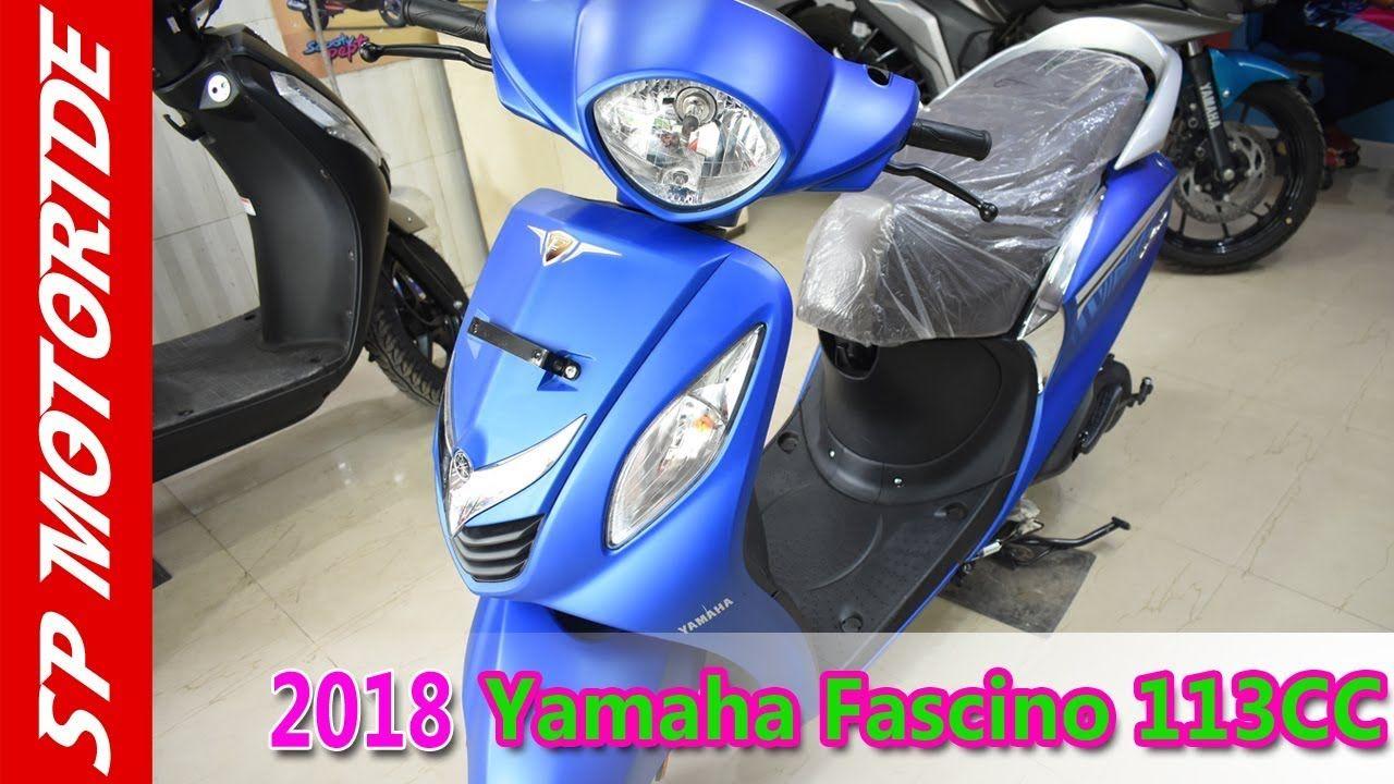 2018 Yamaha Fascino Std 113cc Full Review In Hindi Bike Review