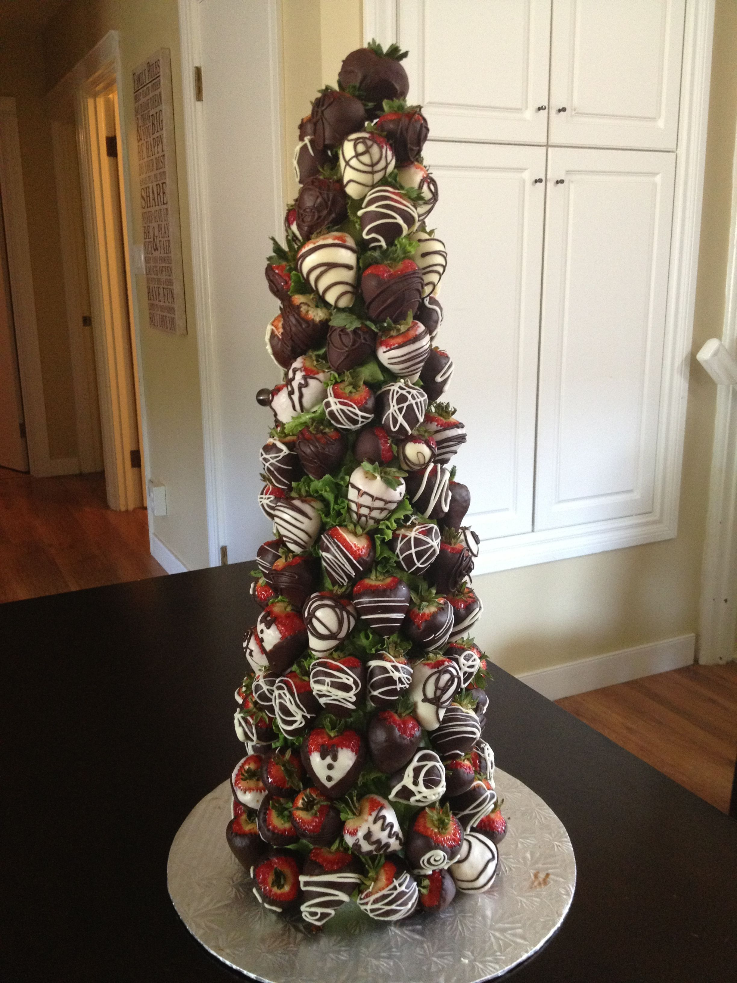 Chocolate covered strawberry Tree from the The Berry Bouquet www ...