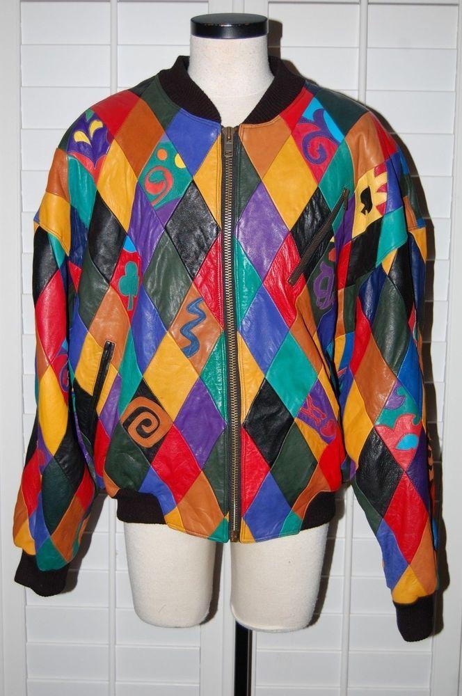 PELLE PELLE MARC BUCHANAN Leather Jacket VTG HIP HOP 90s