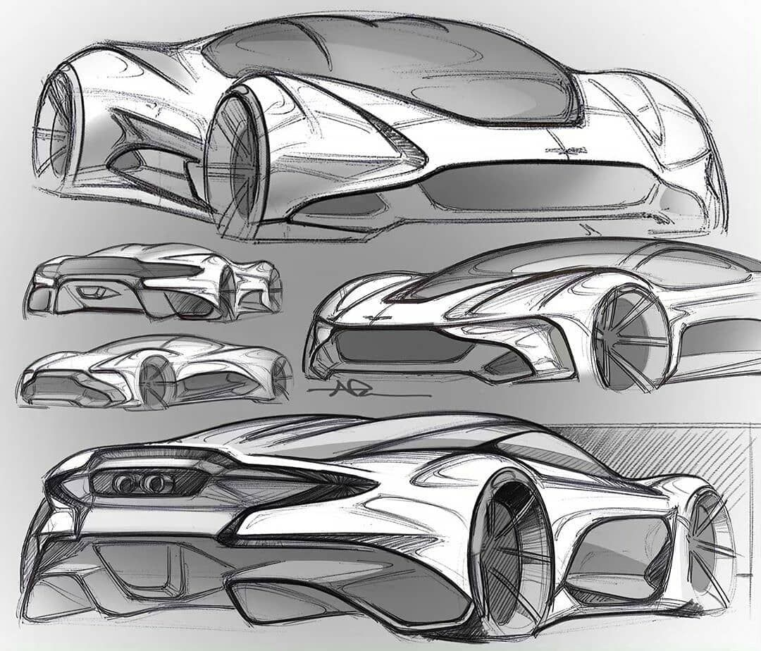 """Aston Martin Sketch: CarDesignHUE On Instagram: """"Reposted From @nikopesa_design"""