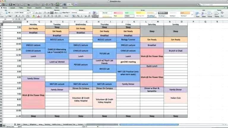 Excel Calendar Schedule Template Full Size Of Worksheet Calendar