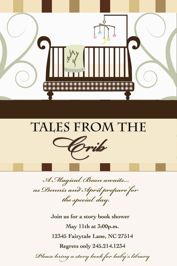 Tales from the Crib Exclusive Story Book Baby by theposhbabyshower ...