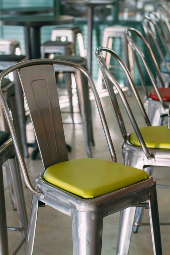 Rounded Chair or Stool Cushion for Metal Chairs and Stools ...