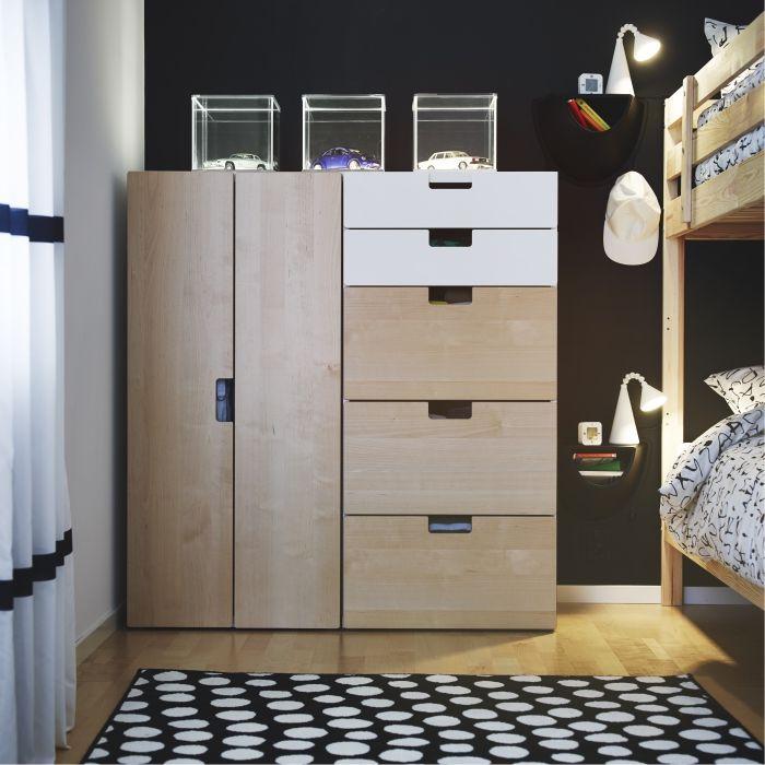 Stuva Systeem Ikea Dagrommel Kledingkast Kast