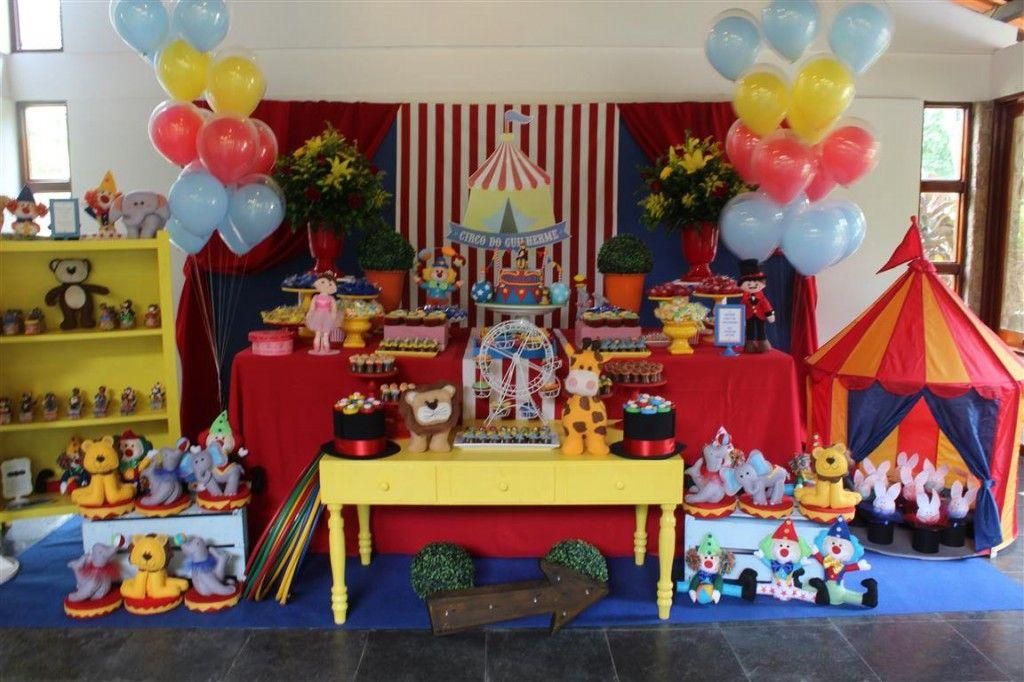 Inspiração de nossa festa Circo Vintage