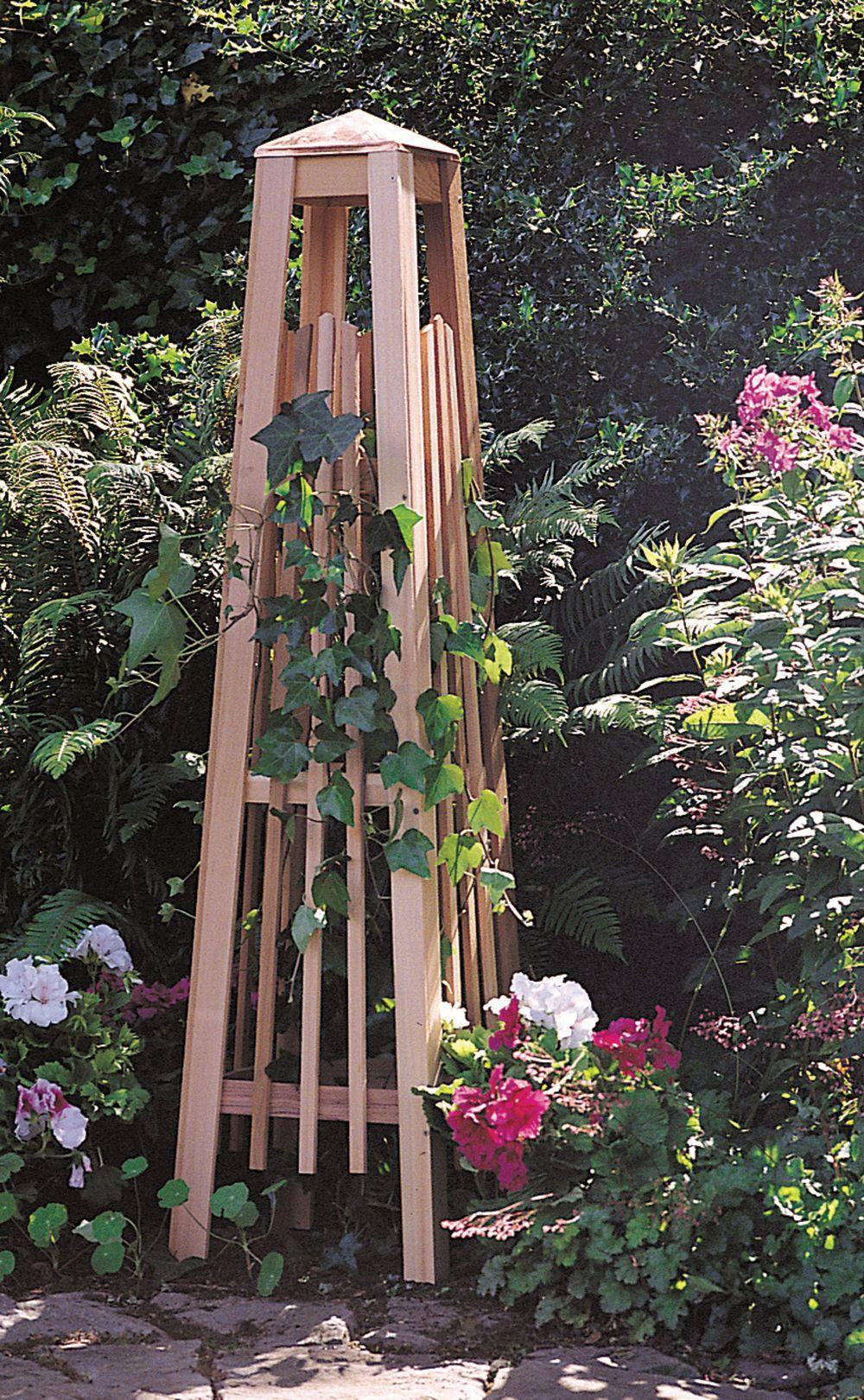 Superbe Garden Obelisk: Manhattan Obelisk   Wood Trellis