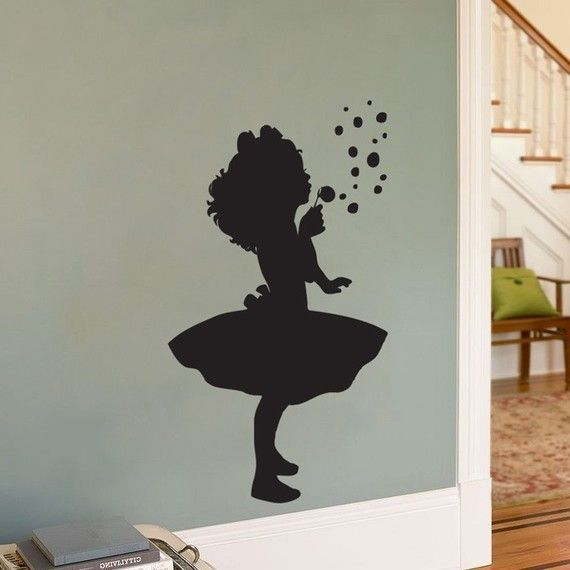 Wall Decal Make From Own Photo Enlarged With Copying Machine - How to make vinyl wall decals with silhouette