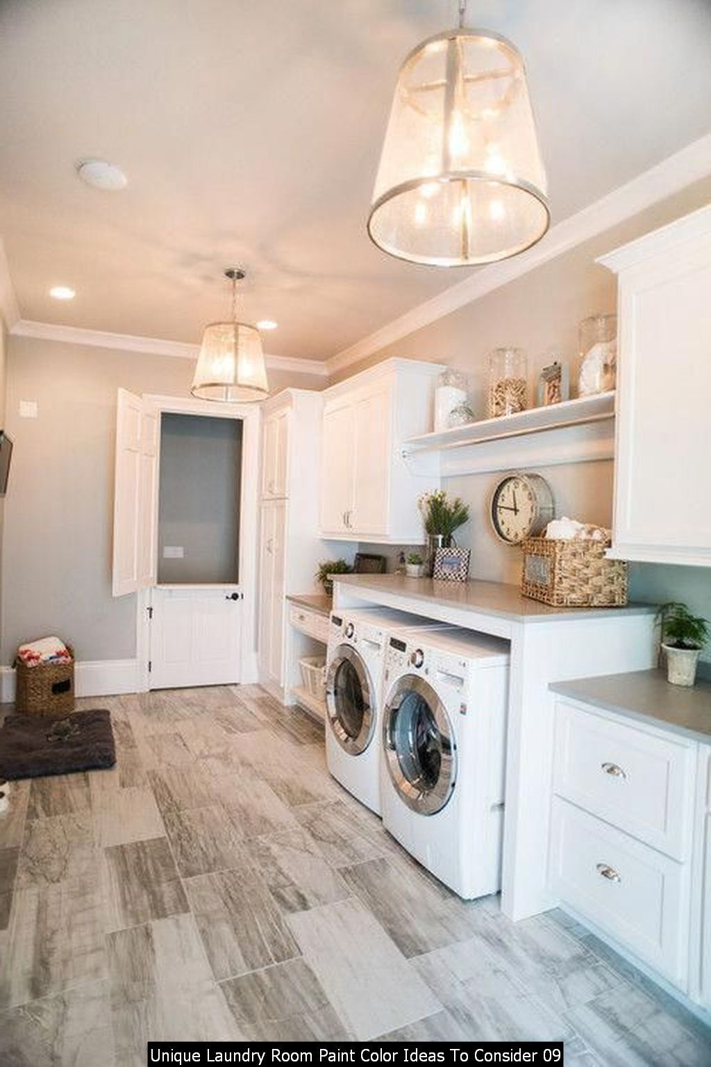 30 Unique Laundry Room Paint Color Ideas To Consider In 2020