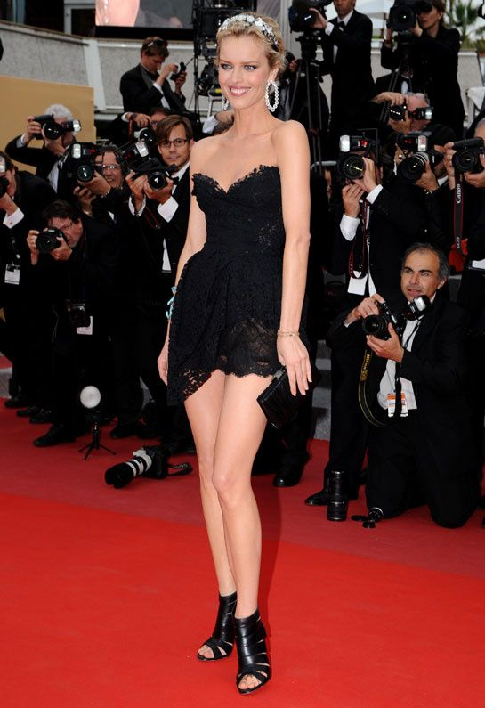 Eva Herzigova en 2009 lors du 63ème Festival de Cannes