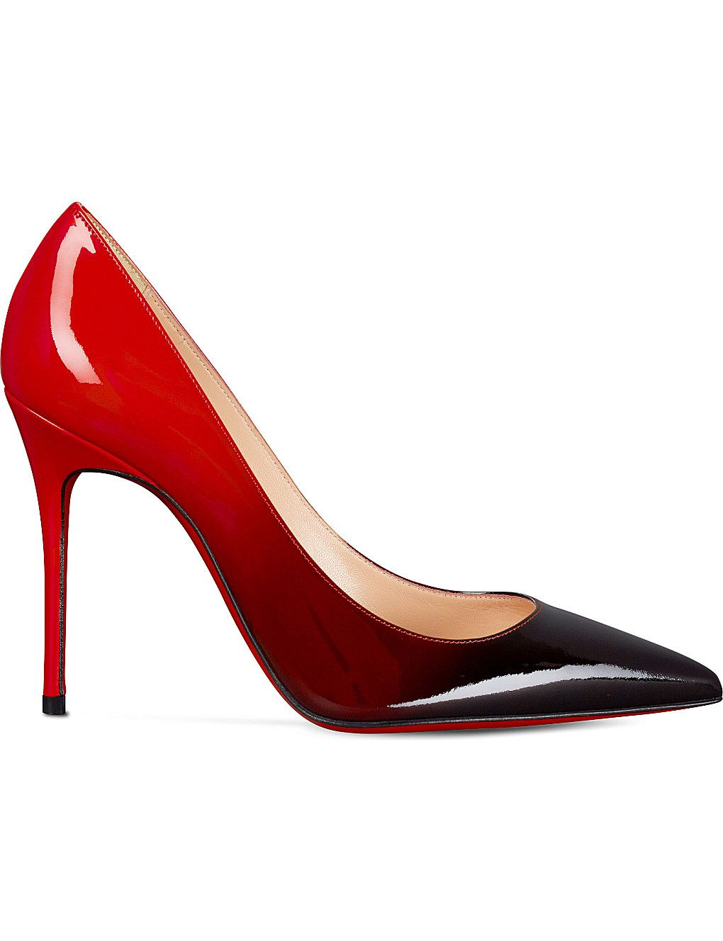 68964a42d10 Kate 100 patent degrade | Zapatos | Christian louboutin, Shoes, Heels