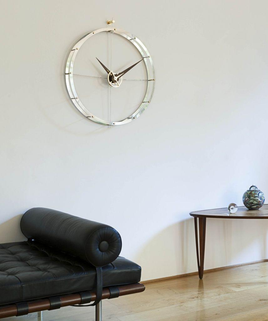 design wandklok u0027doble o u0027 van het spaanse merk nomon designer