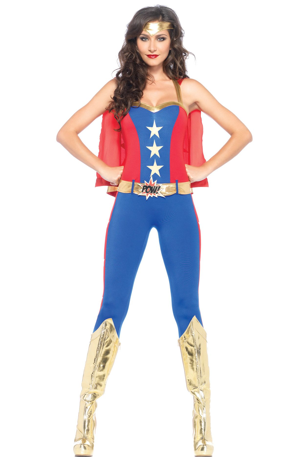 Shop comic/superhero costumes like this Miss Super Hero Costume at ...