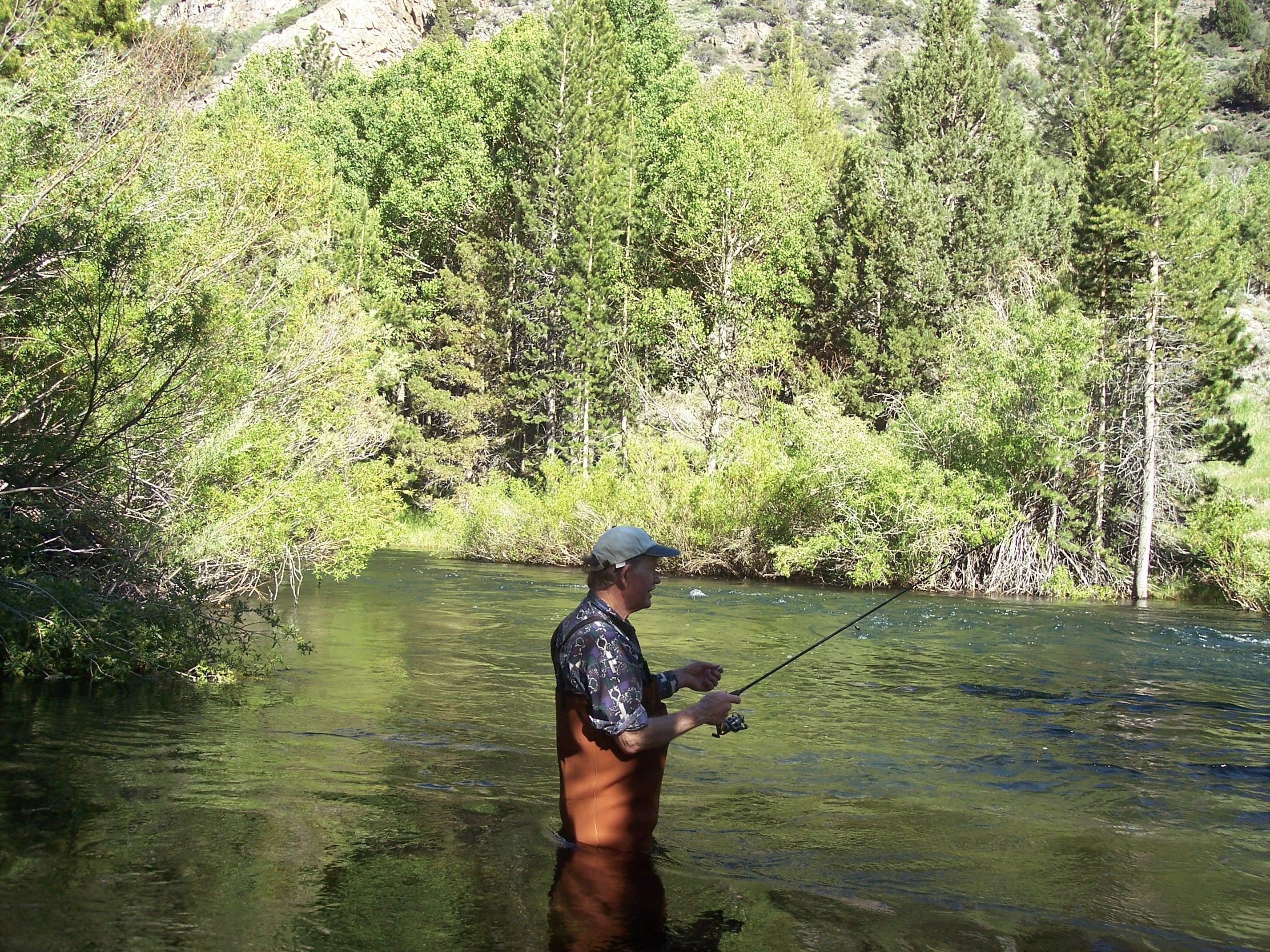 Rush creek near june lake california yes it 39 s me for Fishing lakes near me