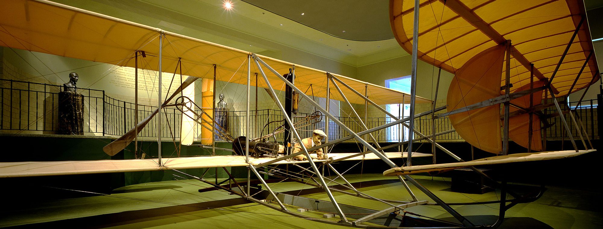 36 Hours in Dayton Aviation center, Wright brothers