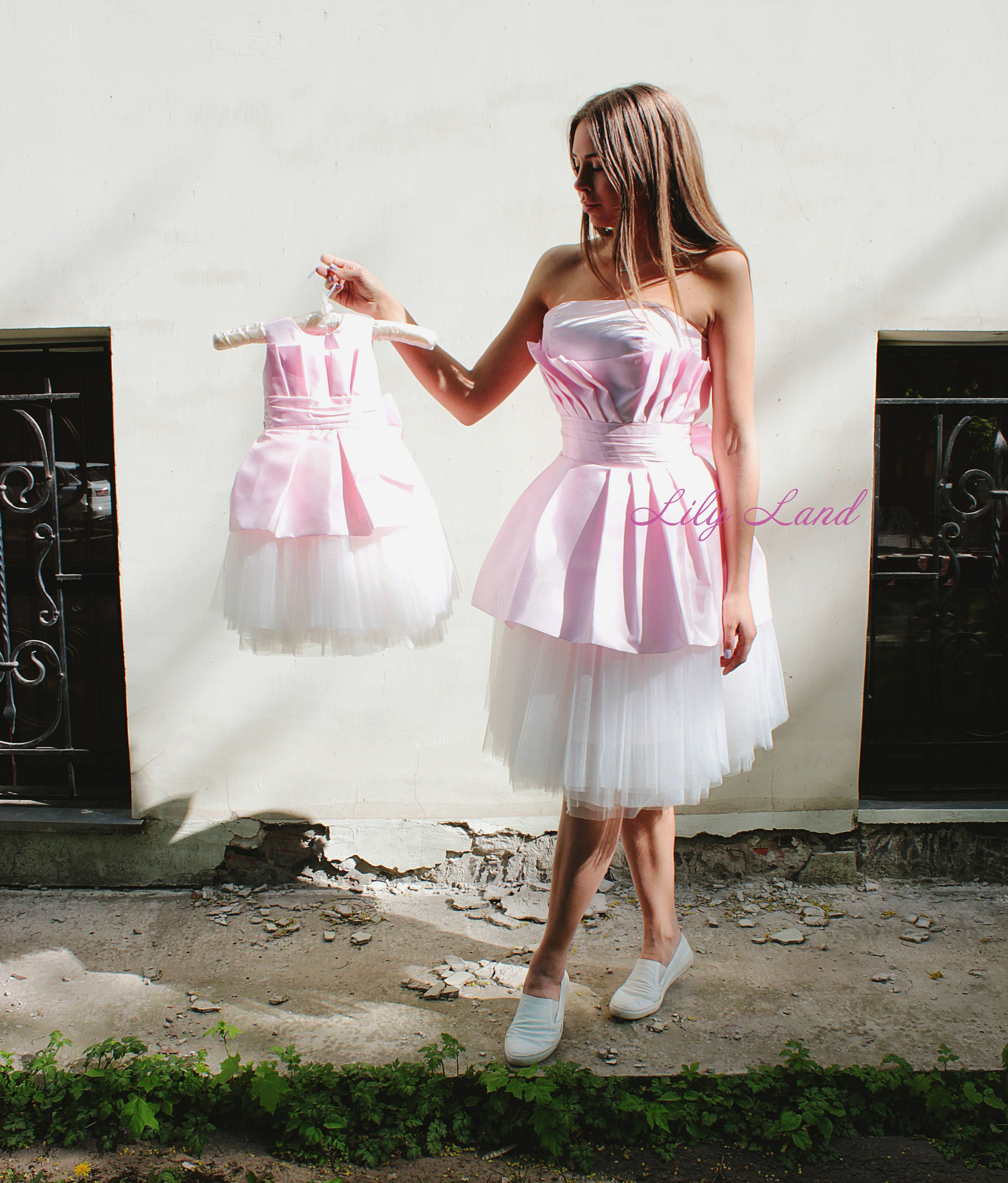 c87327cdcb47 Pink white Mother and daughter holiday dress Matching Dresses tutu ...
