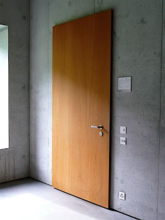 Door in School in Paspels_V. Olgiati. https://plus.google.com/photos/107923041617955196016/albums/5121955657307118001