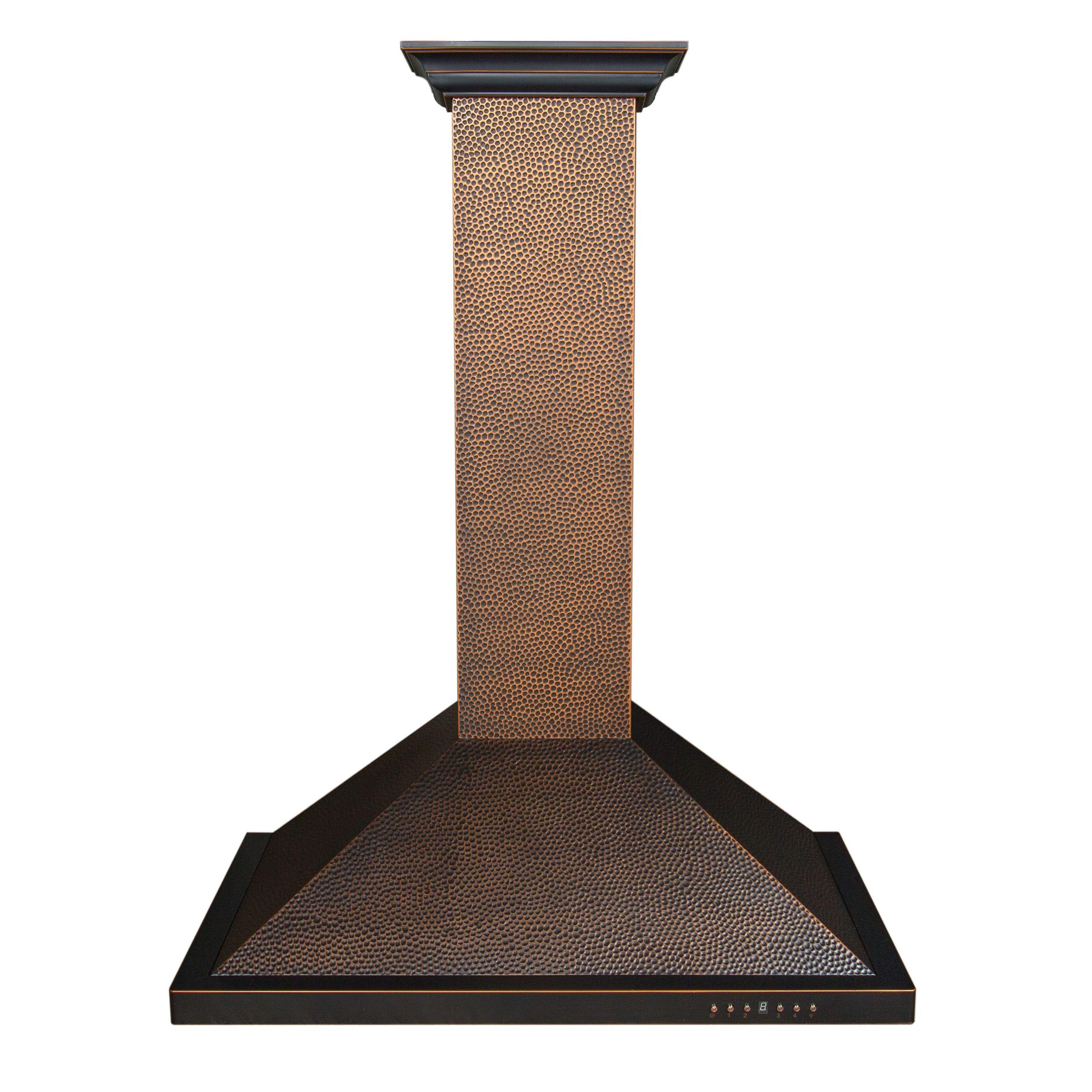 Loving this hammered copper hood by ZLINE Kitchen & Bath!!   Copper ...