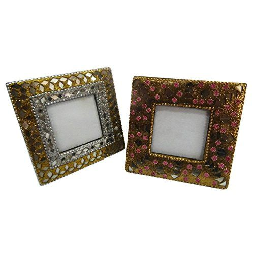 Indian Photo Frame Home Decor Table Top Decorative Set Of 2 Pcs
