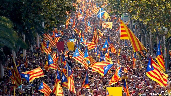 Resultado de imagem para independencia da catalunha