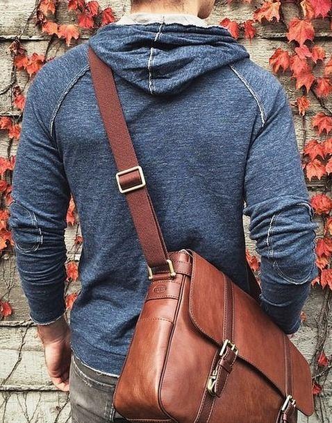 Men's Fashion | Everyday messenger bag. | Men's Style | Pinterest ...