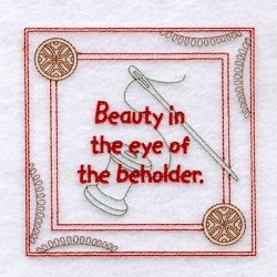 Beauty Saying 5x5 Quilt Machine Embroidery Designs