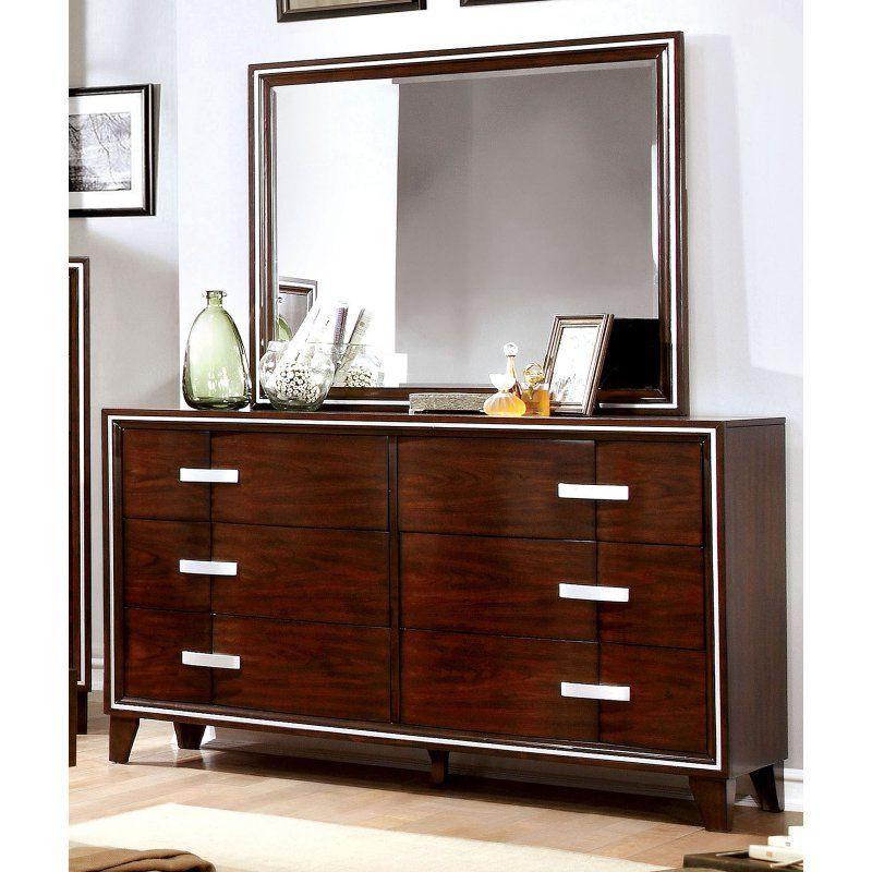 Best Furniture Of America Farver Contemporary 6 Drawer Dresser 400 x 300
