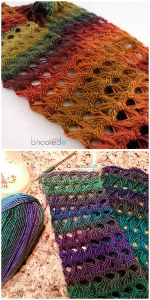 Broomstick Lace Infinity Scarf Crochet Pattern Video Tutorial | The ...
