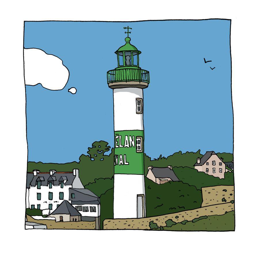 Phare de Doelan Aval à Clohars-Carnoët   Phares de Bretagne