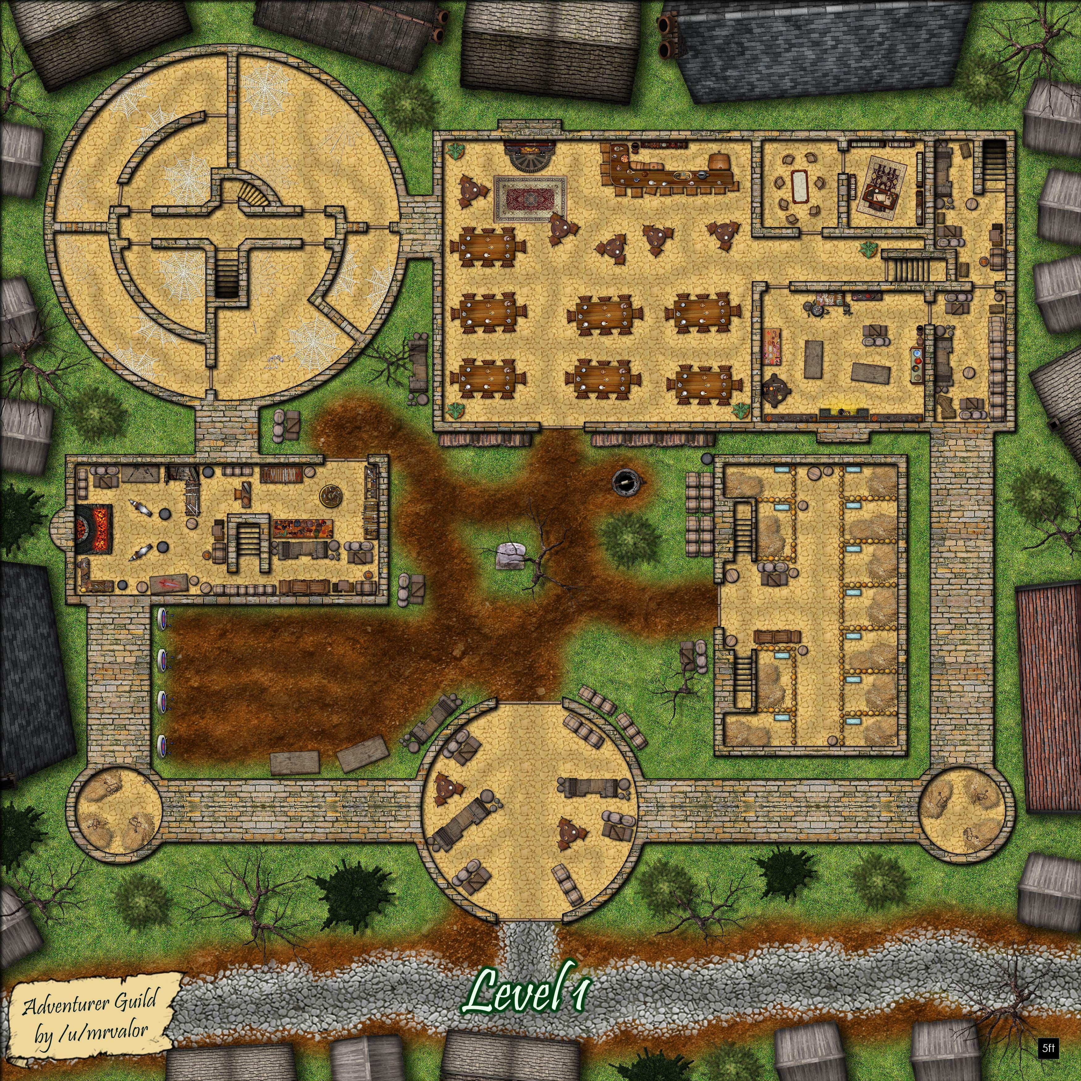 Adventurer S Guild With Images Fantasy Map Pathfinder Maps