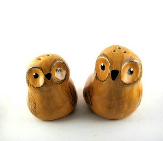 Owl Salt & Pepper shakers.