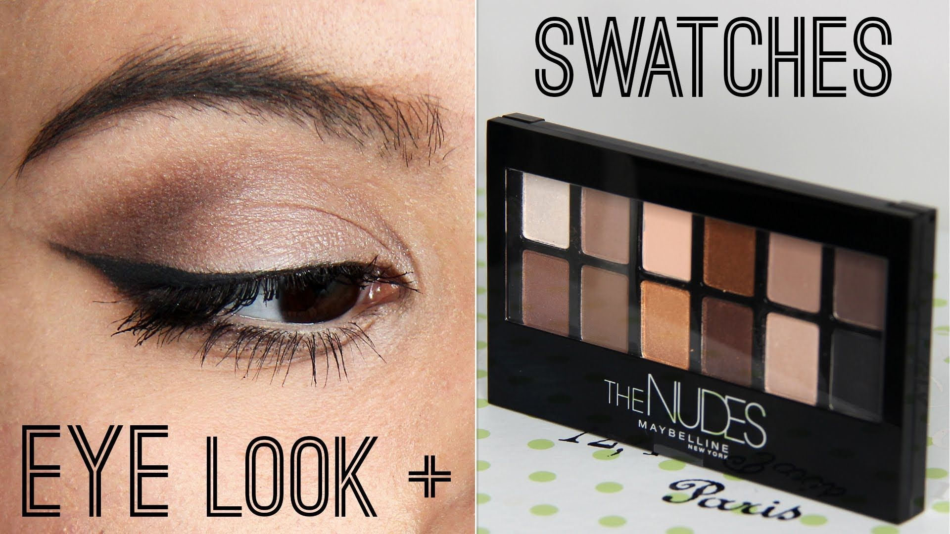 Maybelline the nudes palette first impressions tutorial make maybelline the nudes palette first impressions tutorial makeup project baditri Image collections