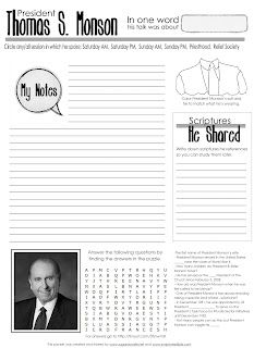 General Conference worksheets!!!   Church: Conference aids ...