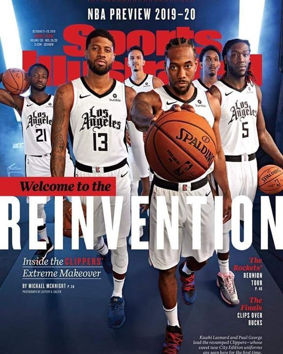 Clippers City Edition The Los Angeles Clippers Unveiled Their City Edition Jerseys On The Cover Of S Sports Illustrated Nba Nba Preview Los Angeles Clippers