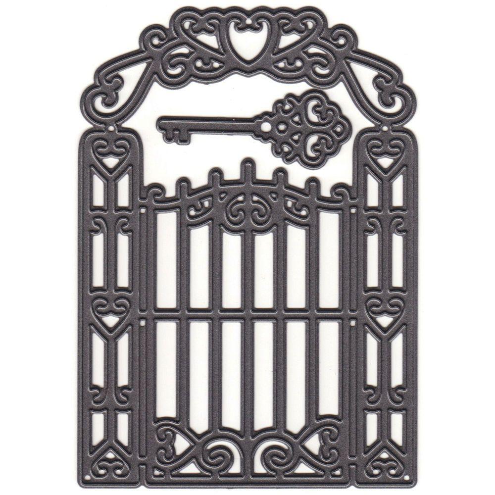 Marianne Design Craftables Dies-Garden Gate in Crafts, Scrapbooking & Paper Crafts, Scrapbooking Tools | eBay