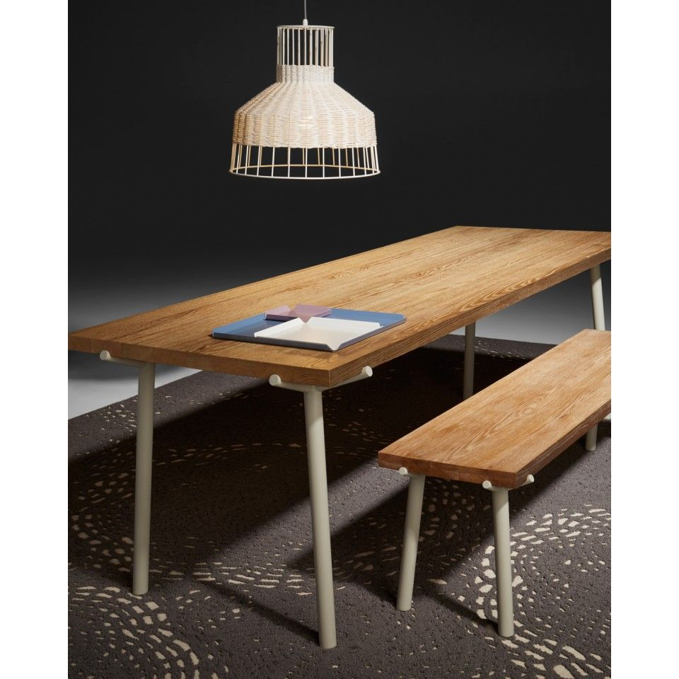Laika Medium Pendant Light Reclaimed Wood Dining Table Wood