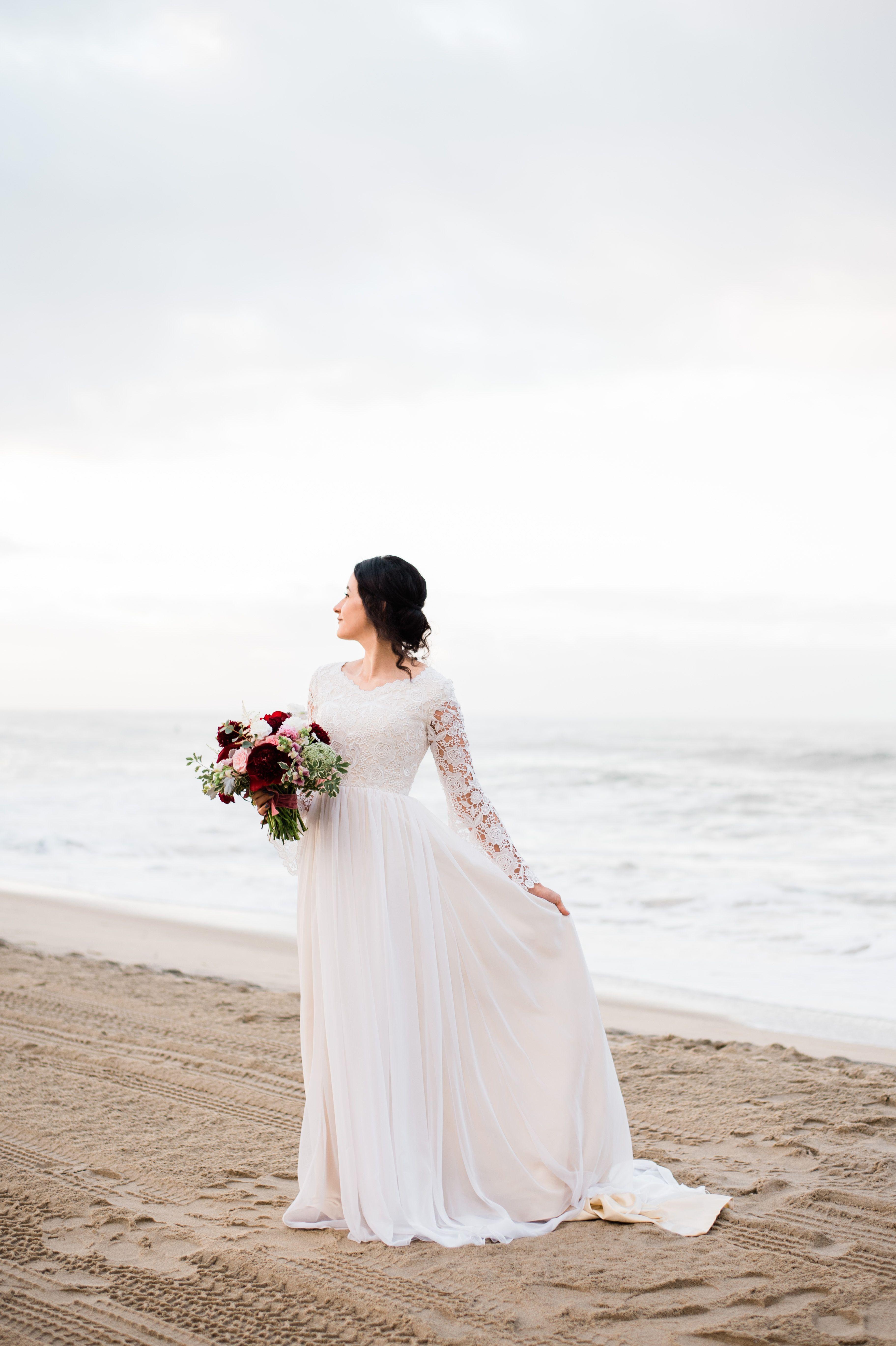 Abigail Erin Photography Red Wedding Modest Wedding Dresses