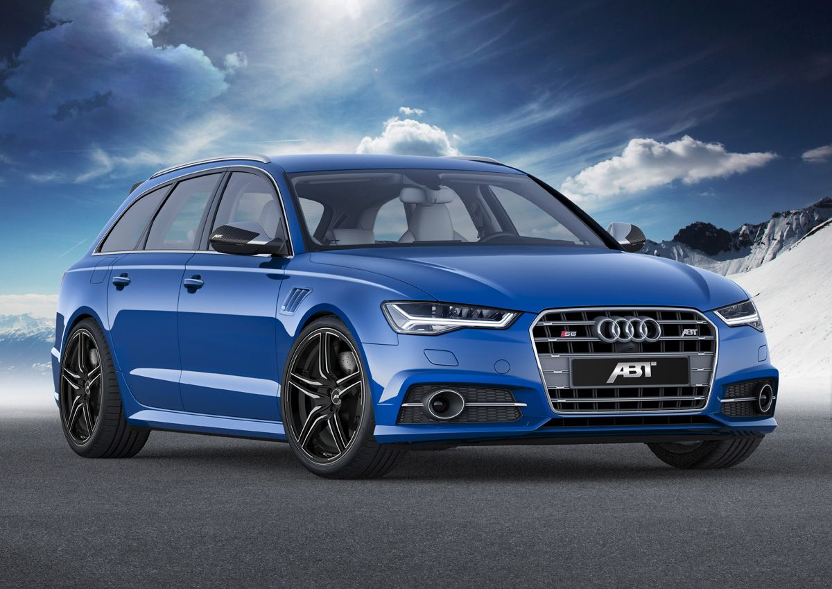 Abt Sportsline Creates A Sibling Rivalry With The Audi S6 Audi