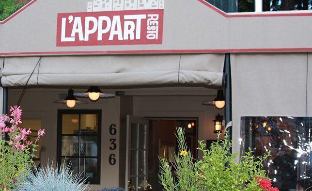 L Appart Restaurant San Anselmo - HOME DECOR
