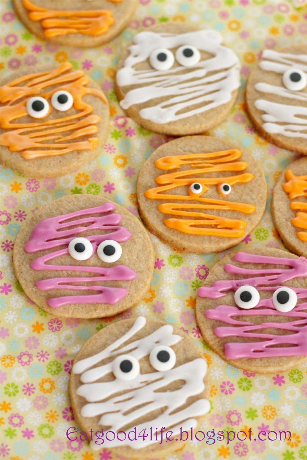 100 whole wheat halloween sugar cookies Recipe Halloween sugar - Halloween Decorated Cookies