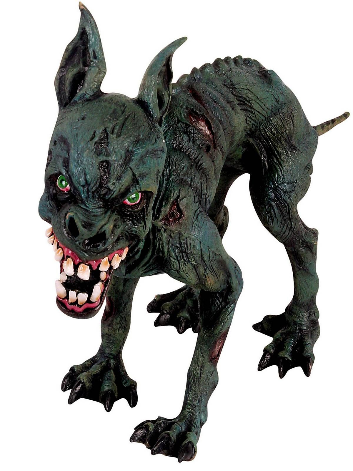 crazy zombie dog prop halloween decorations at frightcatalogcomlooks like - Fright Catalog Halloween Decorations